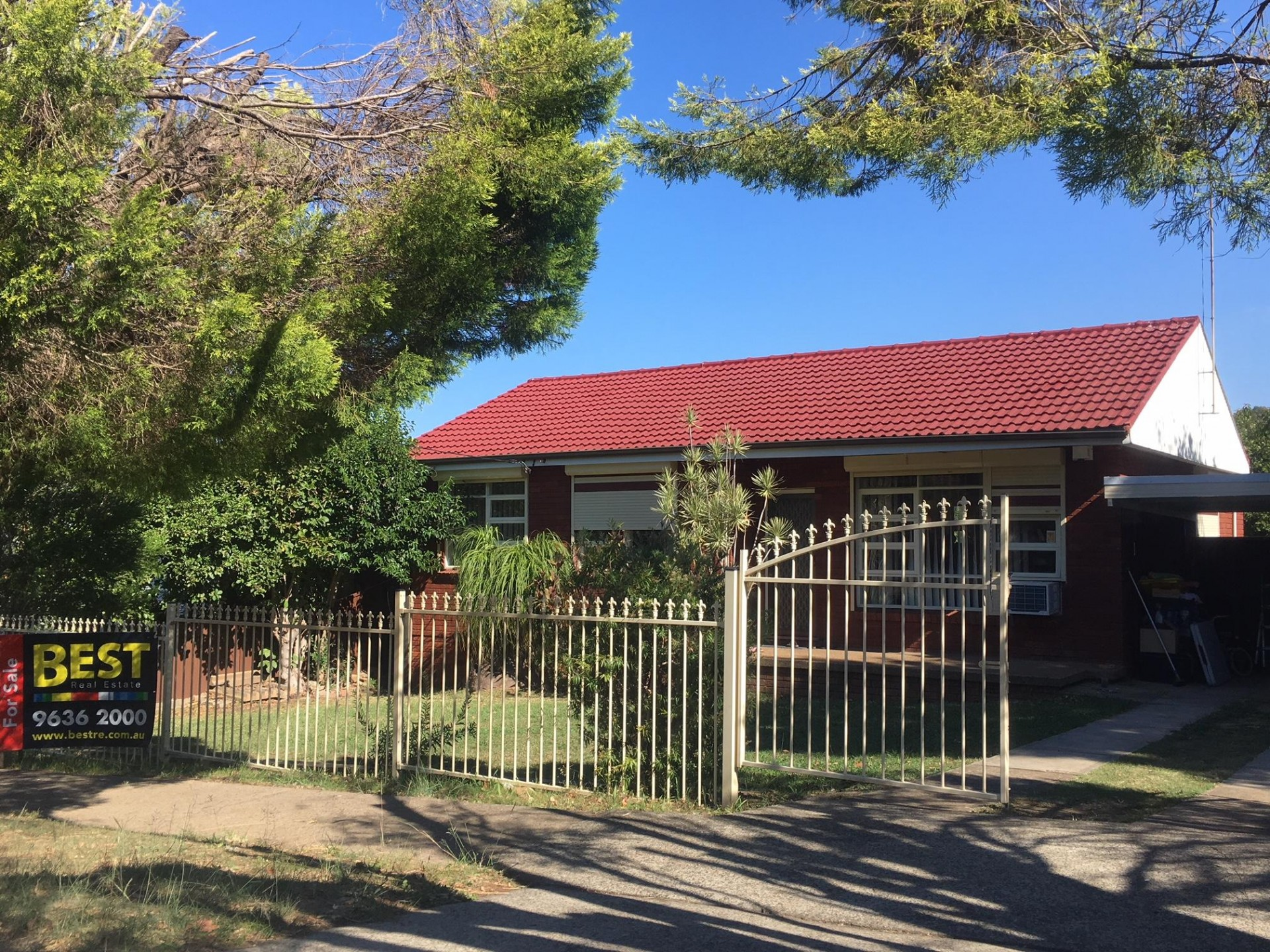 Better be fast for this one! Well priced brick veneer home in handy spot!