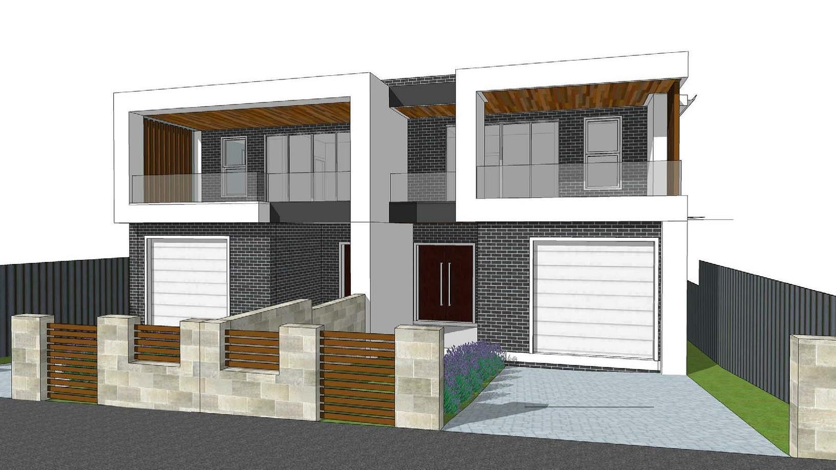 Brand New Duplex in Construction! Top Location!